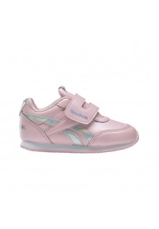 Reebok Girl's Trainers Royal Classic Jogger 2.0 Pink/Gray DV9017 | No laces | scorer.es