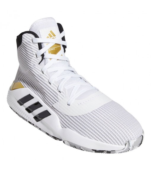 Zapatillas Hombre Adidas Pro Bounce Blanco/Oro bandas Negras EE3896   scorer.es