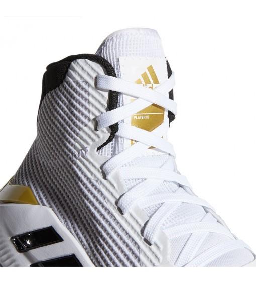 Adidas Men's Trainers Pro Bounce White/Gold Stripes Black EE3896 | Basketball shoes | scorer.es