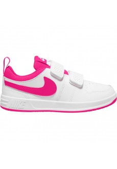 Nike Girl's Trainers Pico 5 (PSV) White/Pink AR4161-102 | No laces | scorer.es