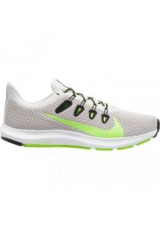 Zapatillas Hombre Nike Quest 2 Platino/Verde CI3787-005 | scorer.es