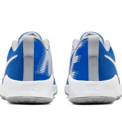 Zapatillas Niño/a Nike Team Hustle Quick 2 Azul/Blanco AT5298-400 | scorer.es