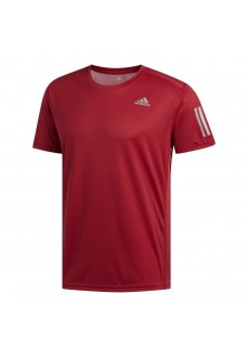 Adidas Men's T-Shirt Own the Run Maroon DZ9003