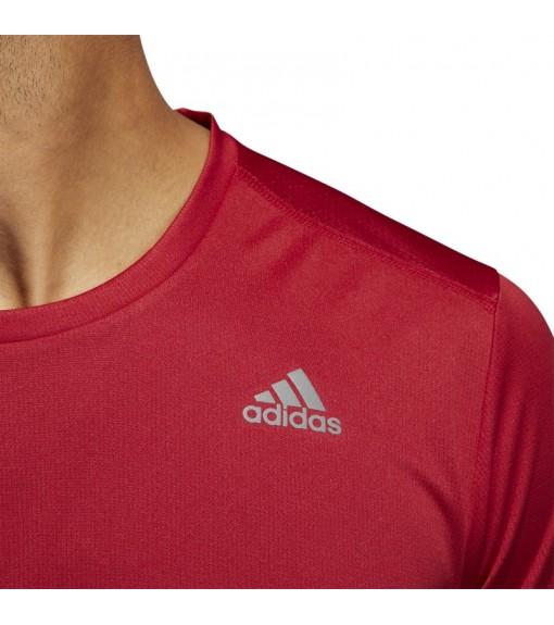 Camisetas Hombre Adidas Own the Run Granate DZ9003 | scorer.es