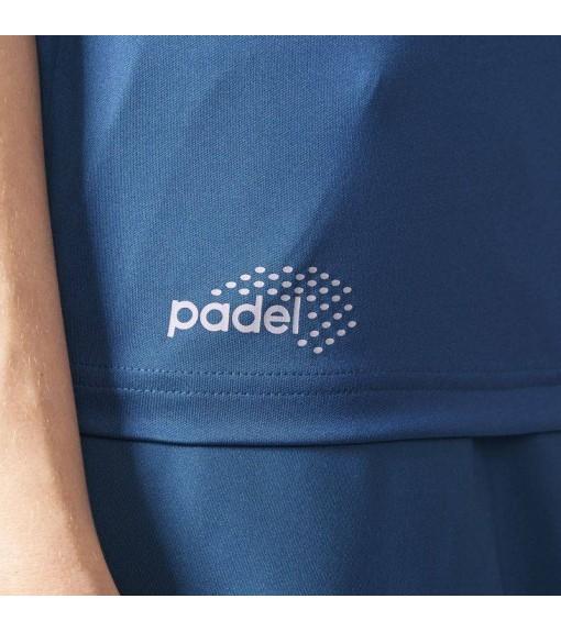 Adidas Women's Blue Tank Top | Paddle tennis clothing | scorer.es
