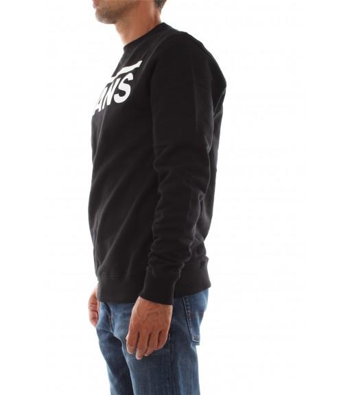 Vans Men's Classic Crew Sweatshirt Black White VN0A456AY281 | Men's Sweatshirts | scorer.es