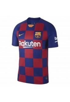 Camiseta Hombre Nike FC Barcelona 2019/20 Stadium Home Azul/Granate AJ5532-456