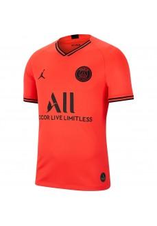 Camiseta Hombre Nike París Saint-Germain 2019/20 Stadium Away Infrarrojo/Negro AJ5552-613