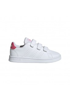 Adidas Kids' Trainers Advantage C White/Pink EF0221