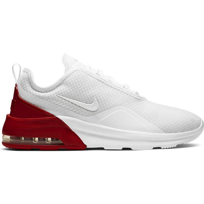zapatillas hombre nike blancas con rojas