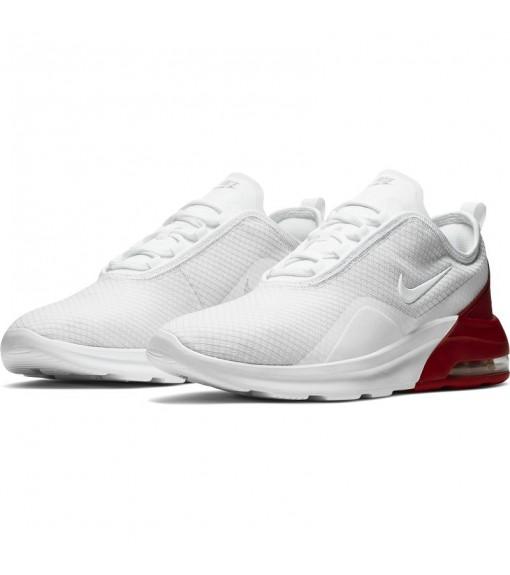 Zapatillas Hombre Nike Air Max Motion 2 Blanco/Rojo AO0266-102 | scorer.es