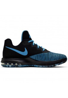Zapatillas Nike Air Max Infuriate III Low Negro/Azul AJ5898-006