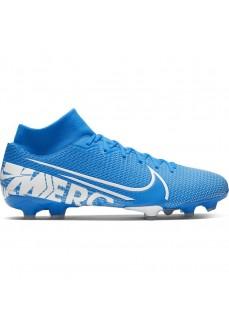 Zapatillas Nike HombrMercurial Superfly 7 Academy MG Azul/Blanco AT7946-414 | scorer.es