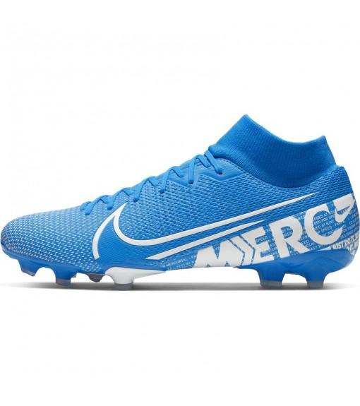 Zapatillas Nike HombrMercurial Superfly 7 Academy MG Azul/Blanco AT7946-414   scorer.es