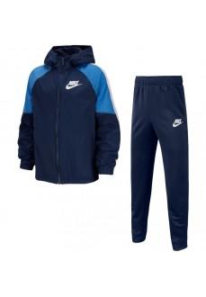 Nike Boy's Tracksuit Sportswear Navy Blue BV3700-410