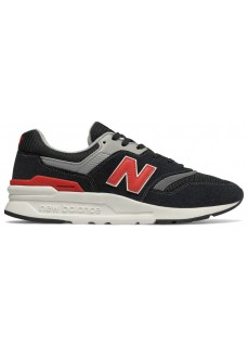 New Balance Men's Trainers Black/Red/Gray CM997HDK