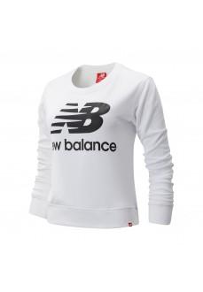 Sudadera Mujer New Balance Essentials Crew Blanca WT91585WK | scorer.es