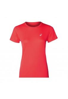 Camiseta Mujer Asics Silver Icon Top Fucsia 2012A452-701 | scorer.es