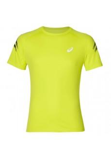 Camiseta Hombre Asics Silver Icon Top Amarillo 2011A467-750