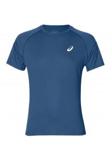 Camiseta Hombre Asics Silver Icon Top Azul 2011A467-401