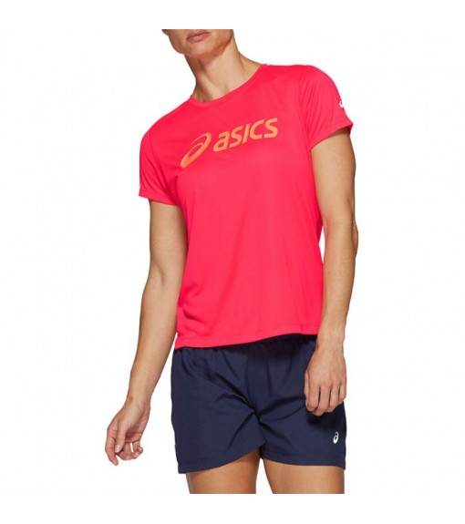 Camiseta Mujer Asics Silver SS Top Graphic Fucsia 2012A469-700 | scorer.es