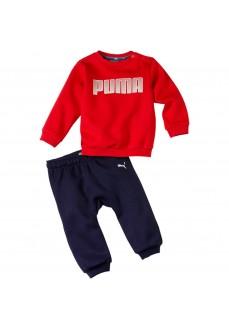 Chandal Infantil Puma Crew Jogger Rojo/Marino 580305-11   scorer.es