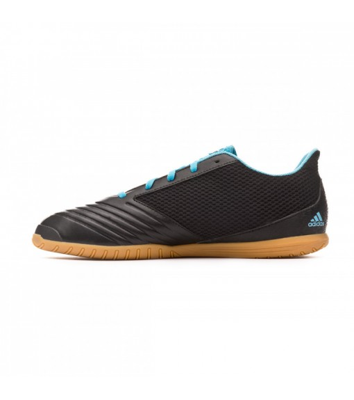 Zapatillas Hombre Adidas Predator 19.4 IN SA Negro/Turquesa FG35631 | scorer.es