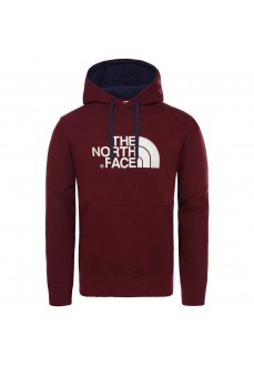 Sudadera Hombre The North Face Drew Peak Granate NF00AHJYHBM | scorer.es