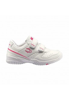 J.Smith Girl's Trainers Cunin White/Fuchsia