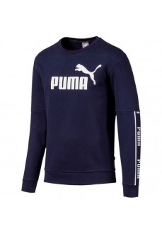 Sudadera Hombre Puma Amplified Crew Marino 580429-06
