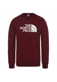 Sudadera Hombre The North Face Peak Crew Granate T92ZWRHBM | scorer.es