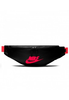 Riñonera Nike Heritage Hip Negro/Rosa Fluor BA5750-016