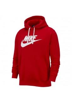 Sudadera Hombre Nike Sportswear Club Fleece Roja BV2973-657 | scorer.es