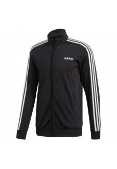 Sudadera Hombre Adidas Essentials 3-Stripes Tricot Negra DQ3070 | scorer.es