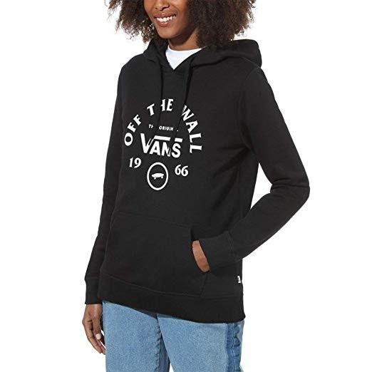 Comprar Sudadera Mujer Vans Side Stripe Negra VN0A7TEBLK