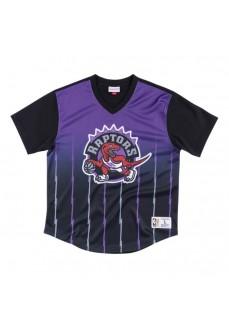Camiseta Hombre Mitchell & Ness Toronto Raptors Morado/Negro MSPOMG18044-TRAPTBK | scorer.es