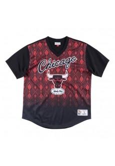 Camiseta Hombre Mitchell & Ness Chicago Bulls Negro/Rojo MSPOMG18044-CBUPTBK