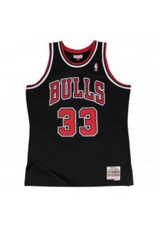 Camiseta Hombre Mitchell & Ness Chicago Bulls Scottie Pippen Negro/Rojo SMJYGS18151-CBUBLCK97SPI