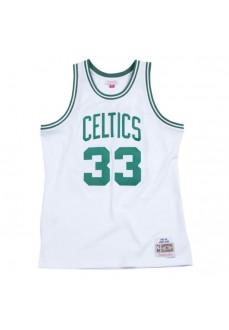 Camiseta Hombre Mitchell & Ness Boston Celtics Larry Bird Blanco-Verde SMJYGS18141-BCEWHIT85LBI