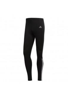 Malla Hombre Adidas Running 3 bandas Negra/Blanca CZ8099