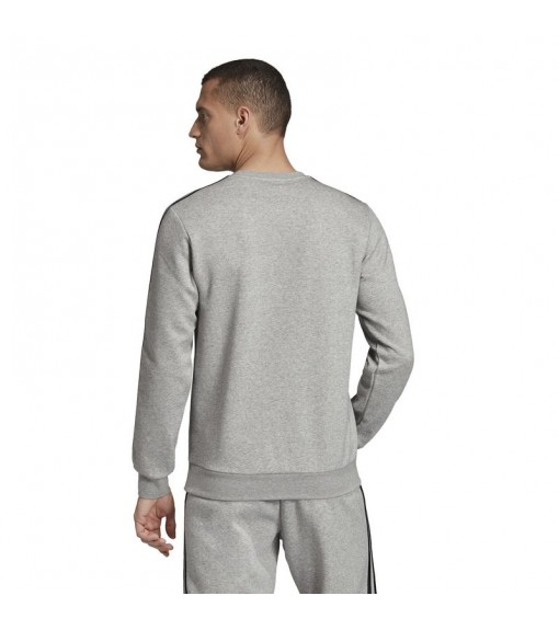 Adidas Men's Sweatshirt Essentials 3-Stripes Grey Stripes Black EI4902 | Sweatshirt/Jacket | scorer.es