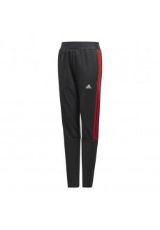 Adidas Kids' Trousers Inseam Black Stripes Red ED5707 | Long trousers | scorer.es