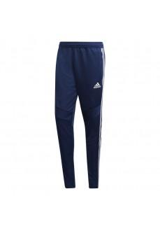 Pantalón Largo Hombre Adidas Tiro 19 Azul Bandas Blancas DT5174 | scorer.es