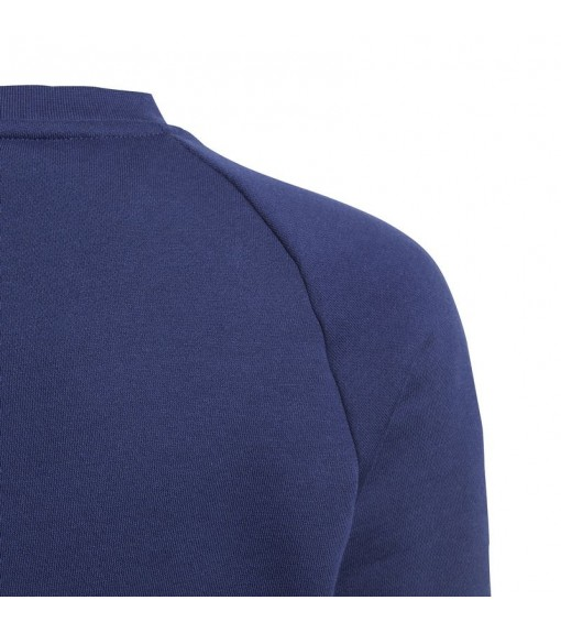 Sudadera Niño/a Adidas Core 18 Sweatshirt Azul CV3968   scorer.es