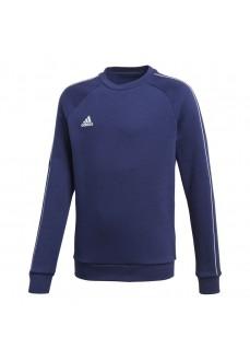 Sudadera Niño/a Adidas Core 18 Sweatshirt Azul CV3968