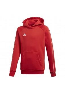 Sudadera Niño/a Adidas Core18 Hoody Rojo CV3431
