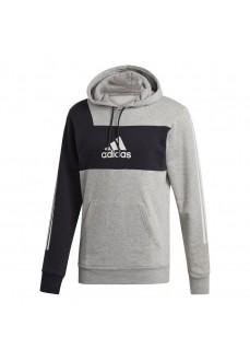 Sudadera Hombre Adidas Sport Hi Hoodie Gris/Negra DX7726 | scorer.es