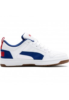 Puma Kids' Trainers Reboun Layup White/Blue 370490-05 | Low shoes | scorer.es