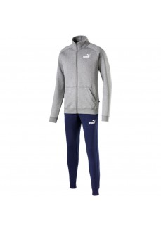 Chandal Hombre Puma Clean Sweat Suit Gris/Marino 854094-03 | scorer.es