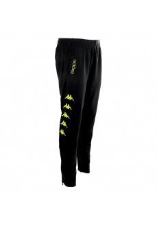 Kappa Men's Trousers Pagino Black/Yellow 303L660_906
